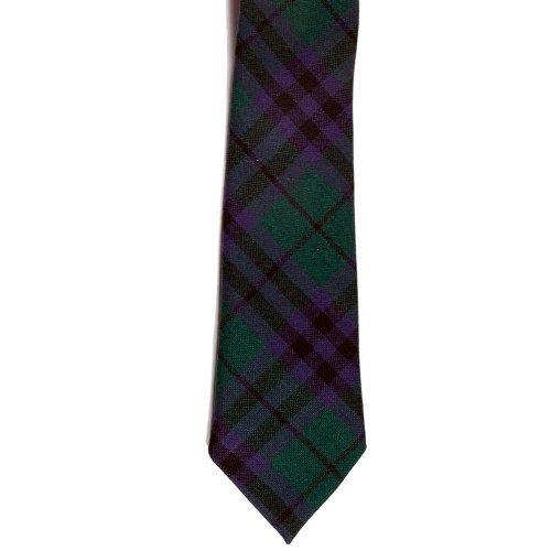 100% Wolle Tartan-Krawatte-Austin - Wolle Kilt