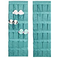 Over Door Organiser Shoe Storage Bag,24 Pocket Over The Door Hanging Tidy Organiser Storage Rack/Over (Hanging Rack)