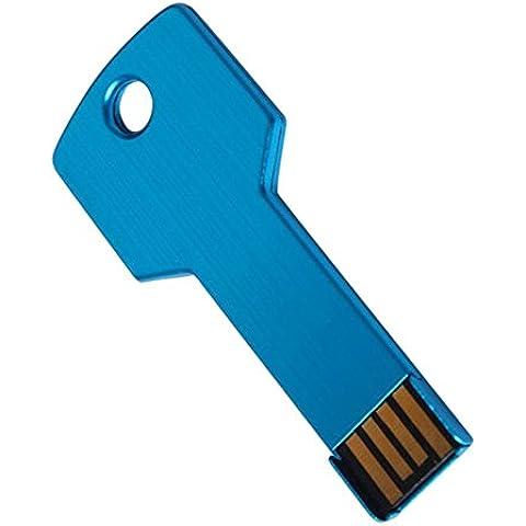 YUSUN 16GB 2.0 U Disco Metallo Chiave Di Memoria Flash USB Pen Drive Memoria Scheda Di Memoria - 6/0 Chiave