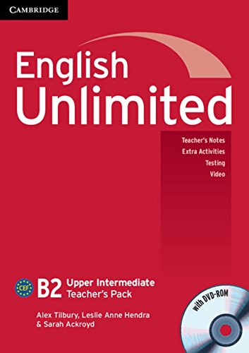 English Unlimited B2 - Upper-Intermediate. Teacher's Pack with DVD-ROM by Alex Tilbury (1-Feb-2011) Perfect Paperback