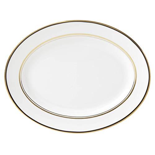 rvierplatte, oval, 33 cm, Schwarz ()