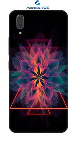 Awesome Light Wave 3D Desgines Printed Back Cover for VIVO X21 - Crockroz Covers