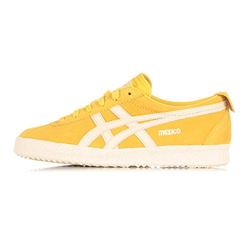 Onitsuka Tiger Mexico Delegation, Sneakers Basses Unisexe adulte Jaune