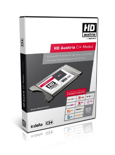 HD Austria CAM/CI+ Modul für Smartcard mit Irdeto-Verschlüsselung (HD Austria, ORF Digital, ORF, ICE Smartcard)