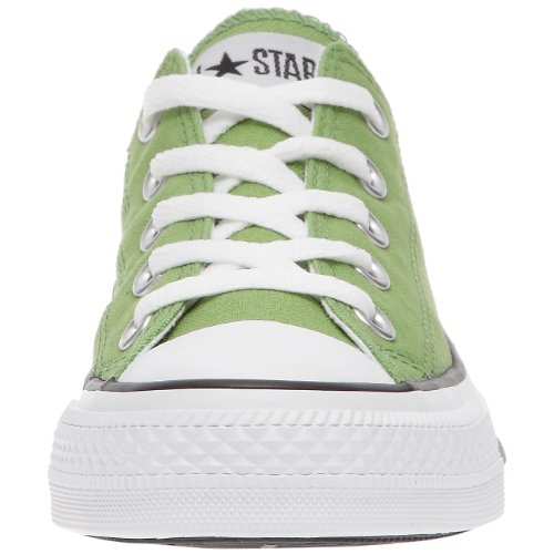 Converse Chuck Taylor All Star Season Ox, Unisex Sneaker Grün (Grün)