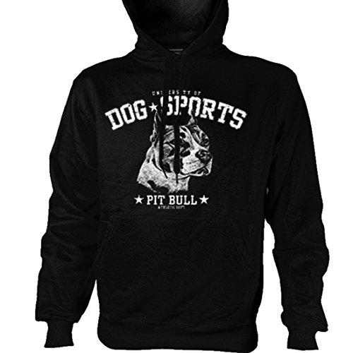 Pullover Sweater - Pit Bull Pitbull Hund, Größe:XL (Halloween Bild Ideen)