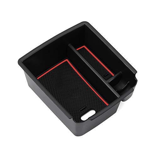 LFOTPP Tiguan Auto Armlehnenbox Aufbewahrungsbox Schwarz