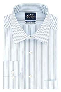 "Eagle Men's Non Iron Stretch Collar Regular Fit Stripe Dress Shirt, Pool Blue, 18.5"" Neck 36""-37"" Sleeve (B07PW91VZ9) | Amazon price tracker / tracking, Amazon price history charts, Amazon price watches, Amazon price drop alerts"