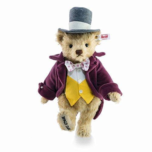 Steiff Willy Wonka Limitierte Ausgabe teddybär - Roald Dahl serie - EAN 664939