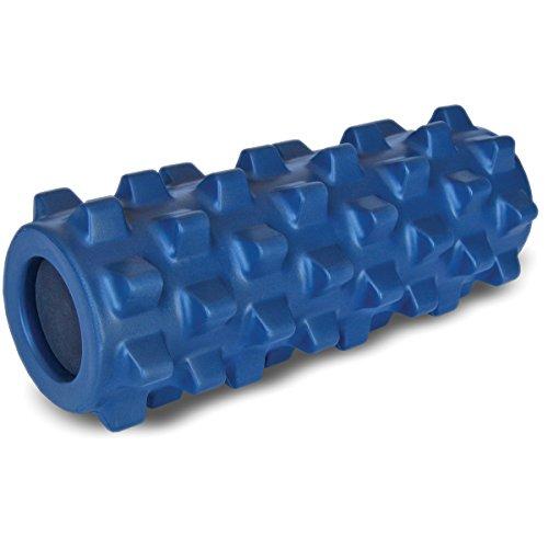 RumbleRoller Original Blau Kompaktgröße 12.5 x 30 cm, ST-RRC126 - Elite-massage-roller