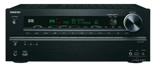 Onkyo TX-NR717 7.2-Kanal AV-Netzwerk-Verstärker (THX Select 2 Plus, 3D, 4K, Musikdienste, Remote App, 170 W/Kanal)  schwarz - Av-receiver Netzwerk
