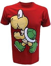 Nintendo T-Shirt -XL- Koopa, rot