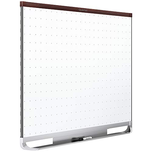 Quartet Prestige 2Total Löschen Whiteboard, 6 x 4 mahagoni