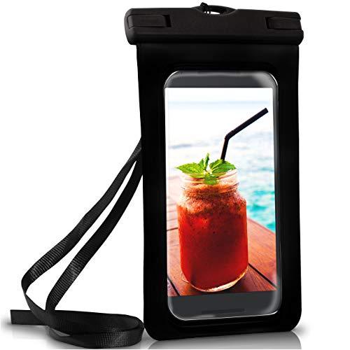 ONEFLOW Wasserdichte Hülle für LG | Full Cover in Schwarz 360° Unterwasser-Gehäuse Touch Schutzhülle Water-Proof Handy-Hülle für LG X Power 2 V30 Nexus X Cam X Screen V40 UVM Case Handy-Schutz