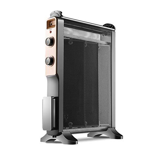 GY Calefactor eléctrico portátil con convectores sin Aceite, radiador de Mica con termostato Regulable...