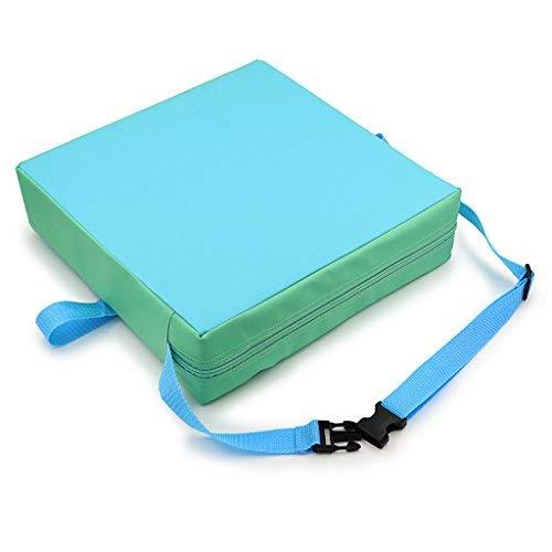 BTSKY Rialzo/cuscino per neonati/bambini rimovibile regolabile lavabile con cinghia di tenuta per sedia da sala da pranzo o da viaggio