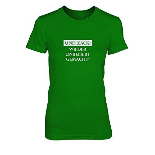 Wieder unbeliebt gemacht - Damen T-Shirt Grün