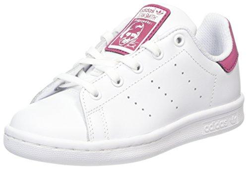 adidas Stan Smith C, Chaussures de Fitness Mixte Enfant, Blanc (Footwear White/Footwear White/Footwear White 0), 35 EU