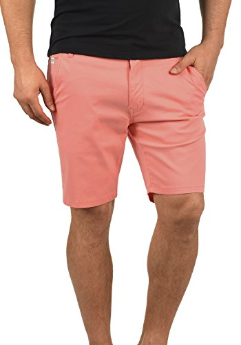 SHINE Original Montero Chino Shorts Bermuda Kurze Hose Aus Stretch-Material Regular Fit, Größe:M, Farbe:Peach