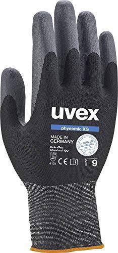 Uvex 600709PHYNOMIC XG Sicherheit Handschuh, Größe: 9, Schwarz