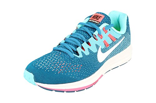 uk availability 7e5a4 472b4 Nike Wmns Air Zoom Structure 20, Industrial Blue White-Pola