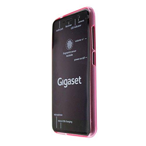 caseroxx TPU-Hülle für Gigaset GS160 / GS170, Tasche (TPU-Hülle in pink)