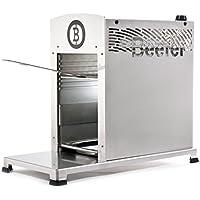 Beefer Original One Pro   Die neue Profi-Version des 800-Grad Premium-Oberhitze-Gasgrill für das perfekte Steak, Silber