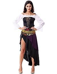 Sexy Ladies Captains Schatz Karibik Piraten-Halloween-Kostüm