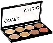 Swiss Beauty Ultra Base Concealer Palette, Face MakeUp, Multicolor-02, 16g