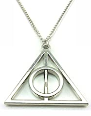 Idea Regalo - Harry Potter Deathly Hallows necklace
