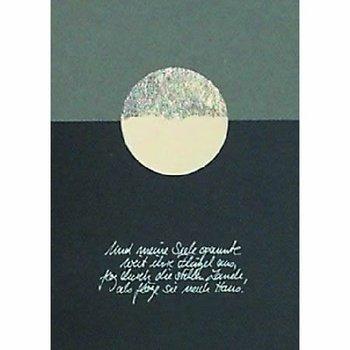 Trauer Karte ... und meine Seele