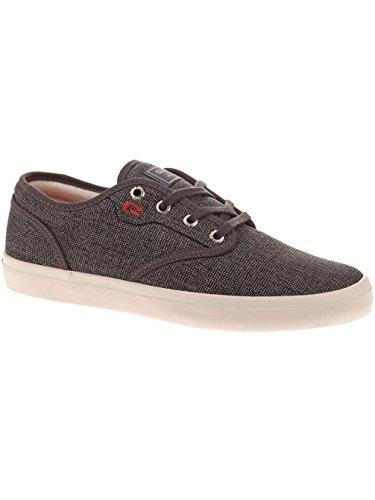 Globe Motley, Chaussures de skateboard homme Black Tweed Red