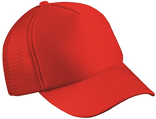 classic-trucker-cap-half-mesh-hat-22-great-colours-mb070-red