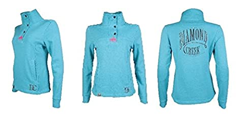 Diamond Creek by HKM Sweat-shirt–Brand New - Gris XS