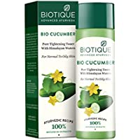 Biotique Bio Cucumber Pore Tightening Toner, 120ml