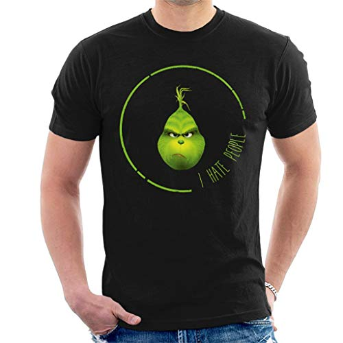I Hate People Grinch Men's T-Shirt