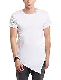 FUGAZEE Tringular Hem T-Shirt