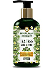 Himalayan Organics Tea Tree Shampoo Anti Dandruff No Para