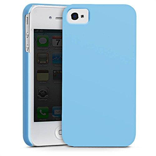 Apple iPhone X Silikon Hülle Case Schutzhülle Eisblau Blau Blue Premium Case glänzend