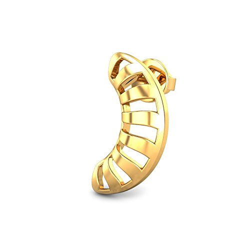 f93a4160a Candere By Kalyan Jewellers 22k (916) Yellow Gold Josie Stud Earrings for  Women - Gia Designer