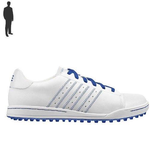 ADIDAS STREET GOLFSCHUHE HERREN WHITE/ROYAL/ROYAL Schuhgröße: 13