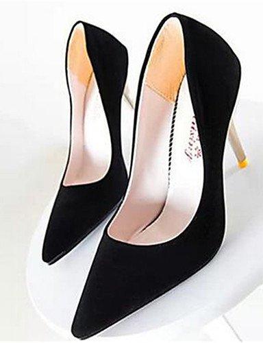 WSS 2016 Chaussures Femme-Soirée & Evénement-Noir / Jaune / Rouge-Talon Aiguille-Talons-Talons-Synthétique yellow-us7.5 / eu38 / uk5.5 / cn38