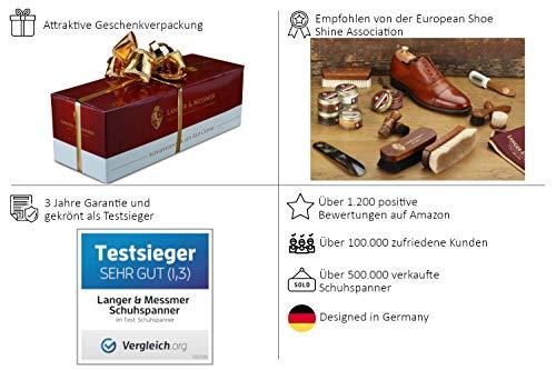 419tPkjgi4L - Langer & Messmer, Hormas para zapatos de madera de cedro, tamaño 44/45, el original