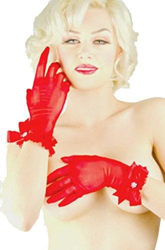 Starline Lingerie - Gant -  - Uni Femme Noir Noir Noir - Rouge