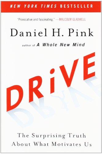 Buchseite und Rezensionen zu 'Drive: The Surprising Truth About What Motivates Us' von Daniel H. Pink