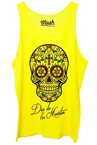 canotta-dia-de-los-muertos-skull-famosi-by-mush-dress-your-style-uomo-m-giallo-fluo