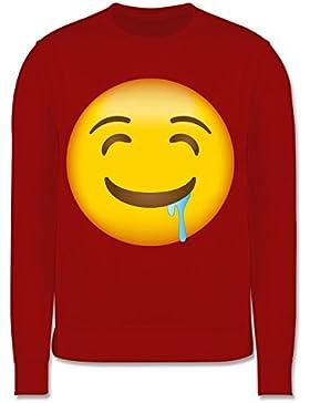Anlässe Kind - Emoji Wasser im Mund - Kinder Pullover