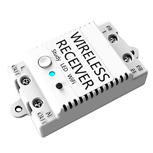TAOtTAO Smart Home ZigBee Wireless Switch-Modul für Echo/Smart Things Hub Wifi Apple/Android App Steuerung R ios/Android Intelligenter WLAN-Adapter (C) (Wireless Ac Apple Adapter)