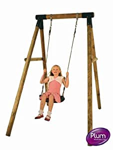 Bush Baby Wooden Pole Swing