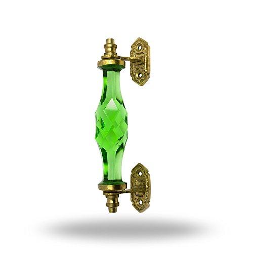 Big Adriana-Impugnatura in fibra di vetro, colore: verde Porta manopola,tira maniglia per Cassetti Armadio da Trinca-Ferro - Armadi Di Impugnatura Maniglia